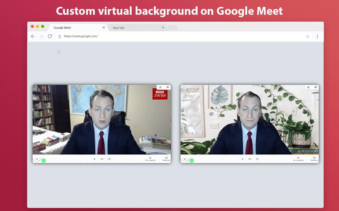 virtual backgrounds for google meet