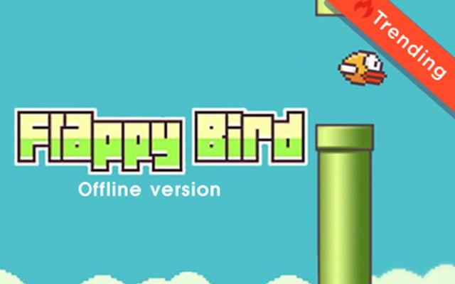 flappy bird chrome extension